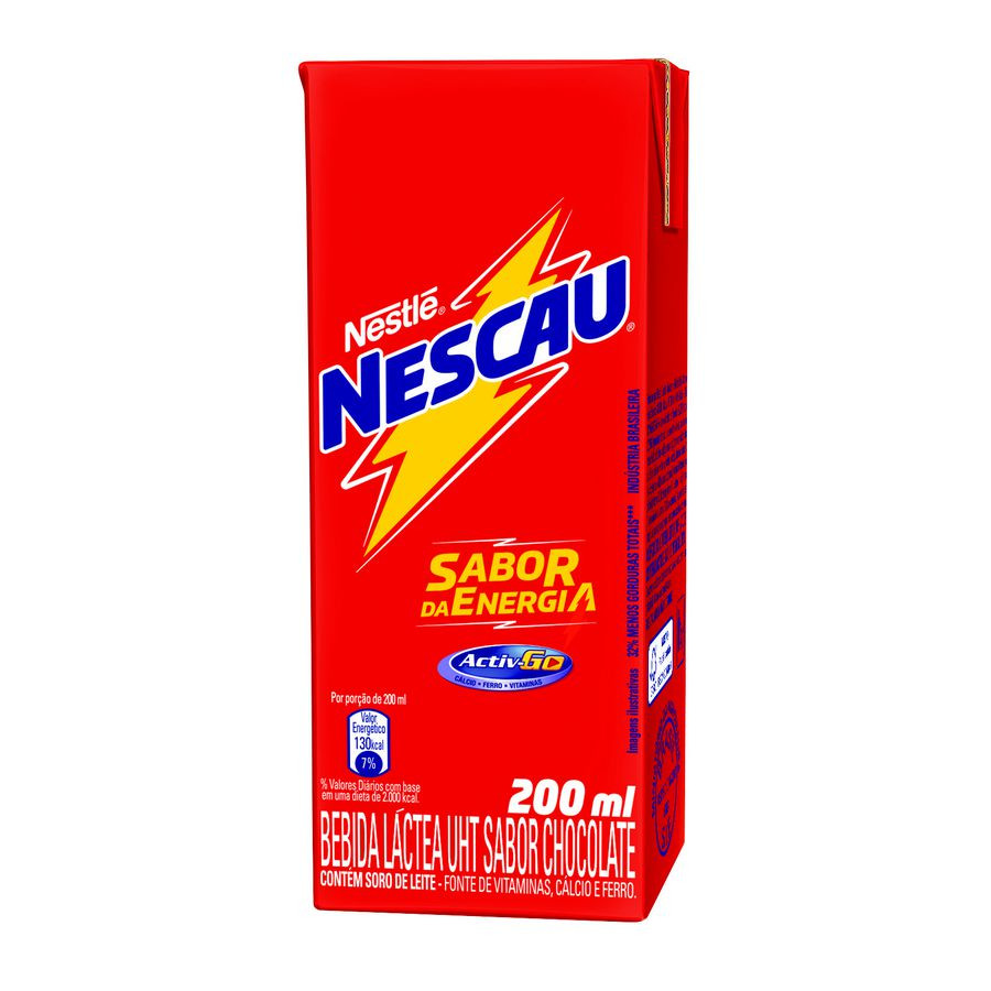 Bebida Láctea NESCAU Chocolate 200ml