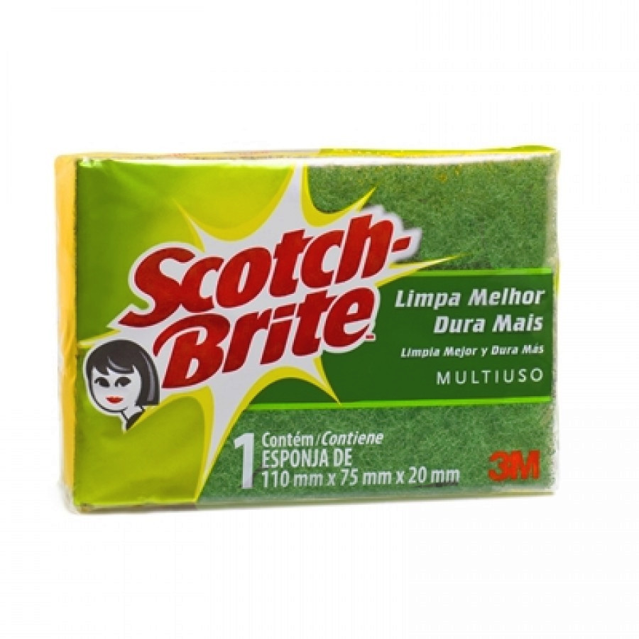 Esponja SCOTCH BRITE 1 unid