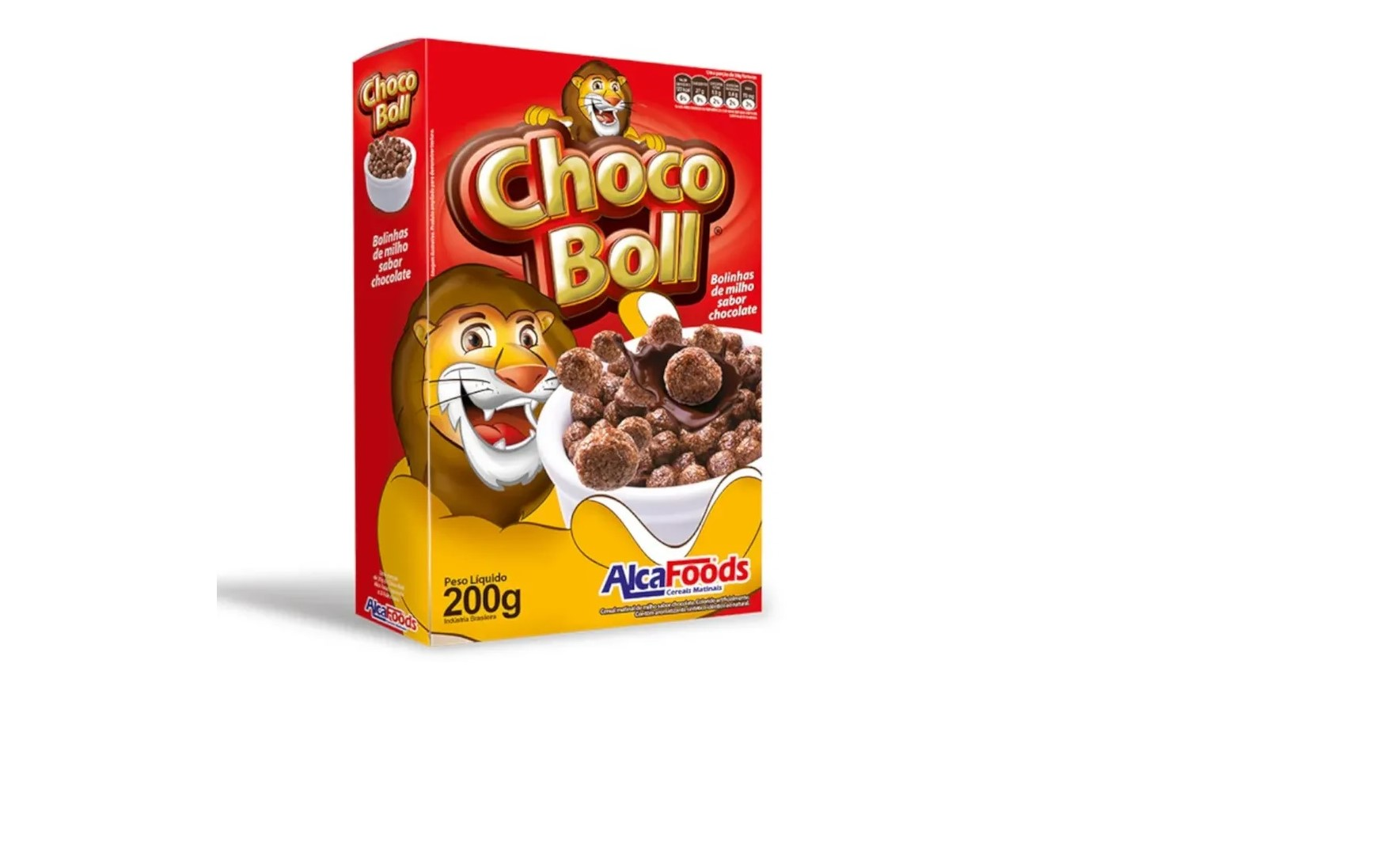 Cereal Matinal ALCAFOODS Choco Boll 200g