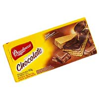 Biscoito Wafer BAUDUCCO Chocolate 140g