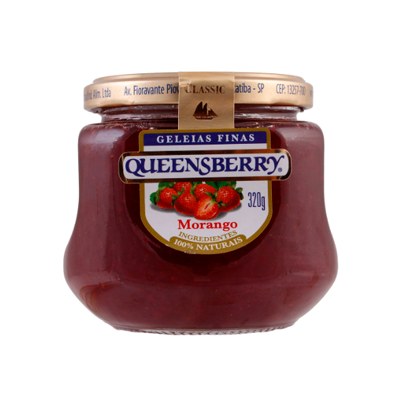 Geléia QUEENSBERRY de Morango 320g