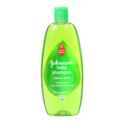 Shampoo JOHNSON`S Baby Cabelos Claros Com Camomila Natural 400ml