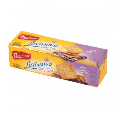 Biscoito BAUDUCCO Cream Cracker Light 200g