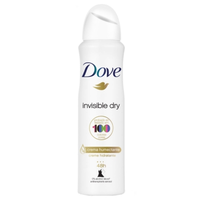 Desodorante Aerosol DOVE Invisible Dry Woman 150ml