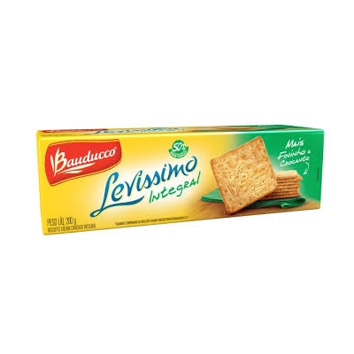 Biscoito BAUDUCCO Cream Cracker Integral 200g