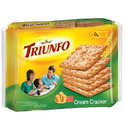 Biscoito TRIUNFO Cream Cracker 375g