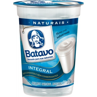 Iogurte BATAVO Integral Natural 170g