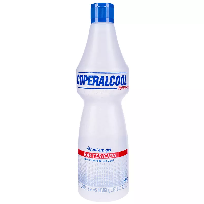 Álcool Gel Bactericida COPERALCOOL Uso Geral 500g