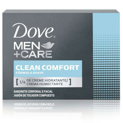 Sabonete em Barra DOVE Clean Confort 90g