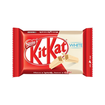 Chocolate NESTLÉ Kit Kat White Chocolate Branco 41,5g