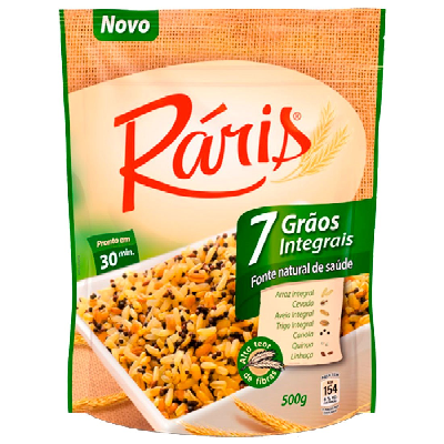 Arroz RÁRIS Integral 7 Grãos 500g
