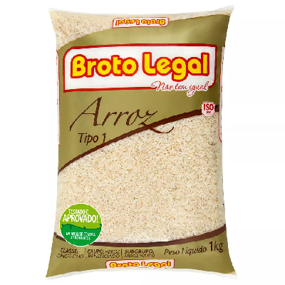 Arroz BROTO LEGAL Agulhinha 1kg