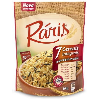 Arroz RÁRIS Integral 7 Cereais 500g